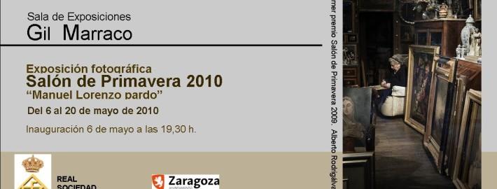Tarjeta Salón de Primavera 2010
