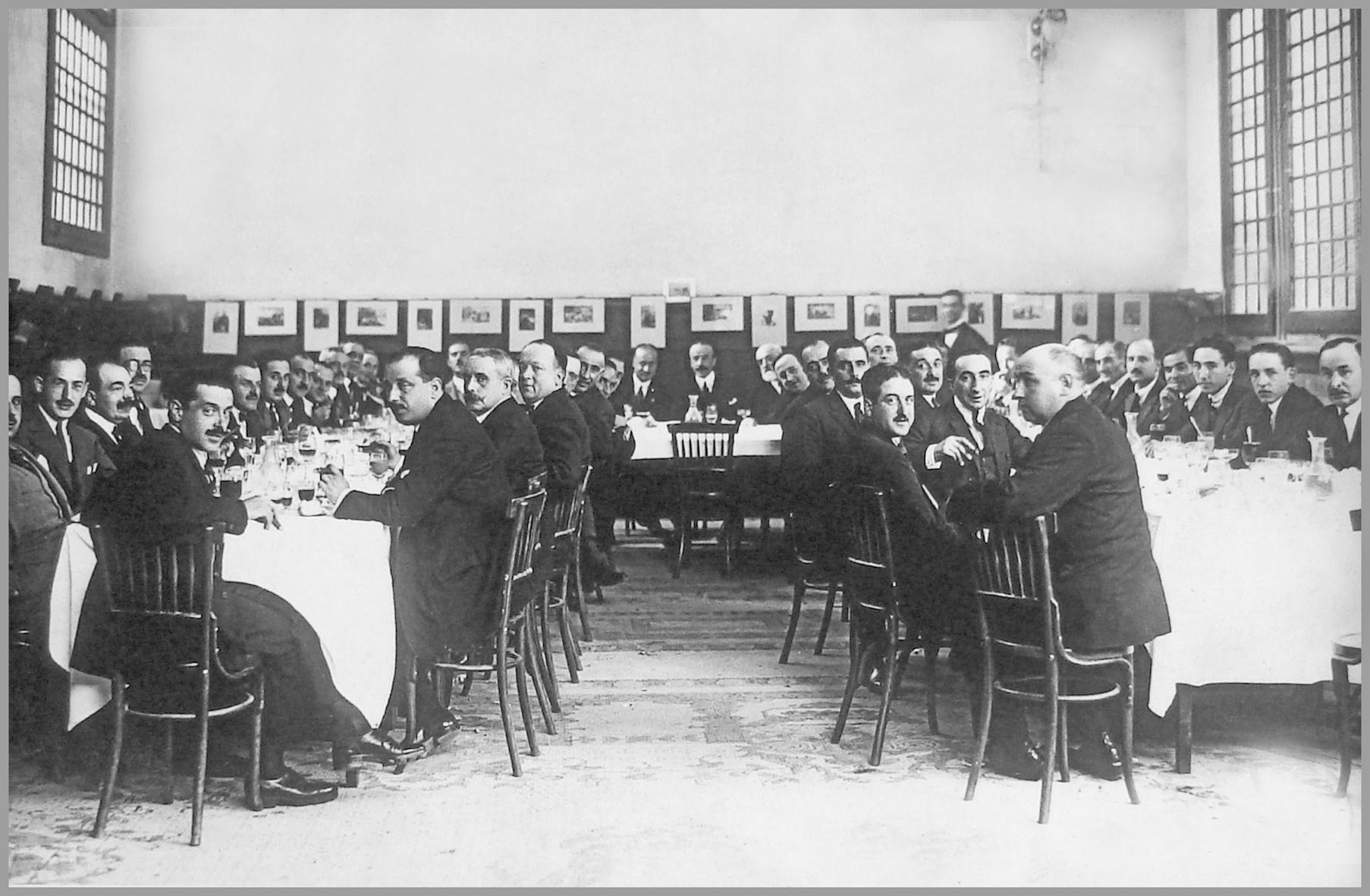 1.cena de fundación 1922
