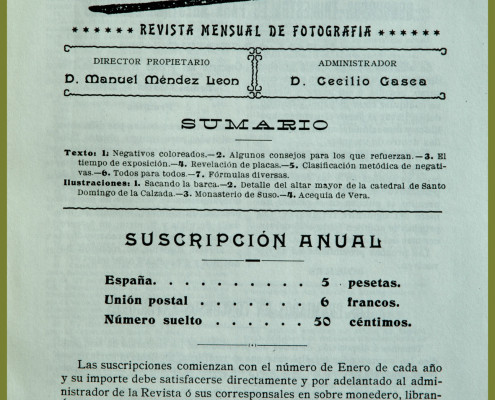 3. revista Photos 1906