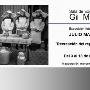 Julio Marin en la Sala Gil Marraco 2013