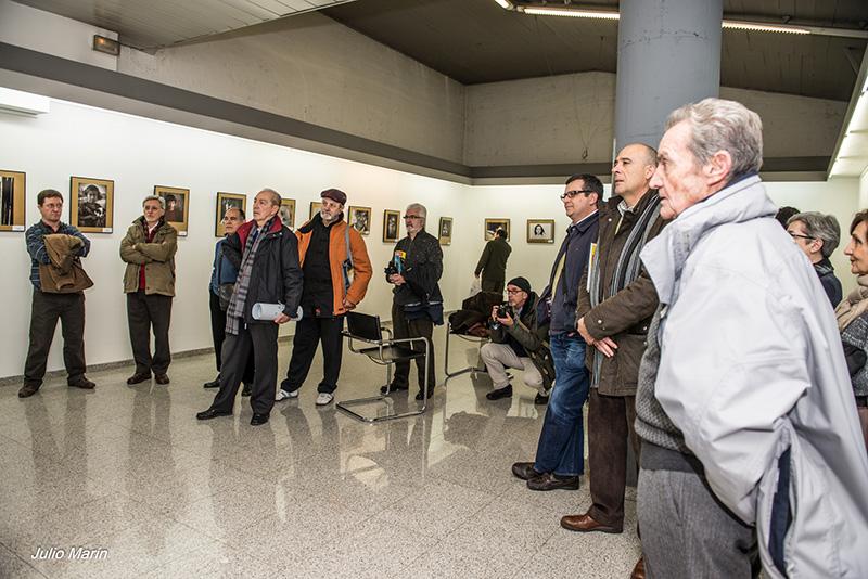 Inauguracion Premio Retrato 2013_ foto de Julio marín