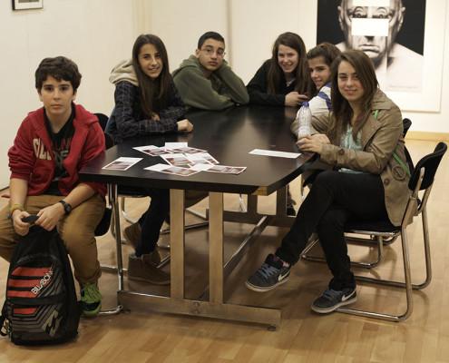 Visita Instituto Corona de Aragón. 2014