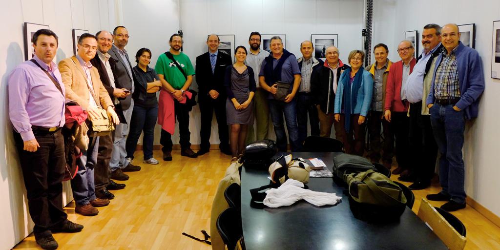 Congresitas de la CEF 2014 en la RSFZ. Fotografía A.Morón