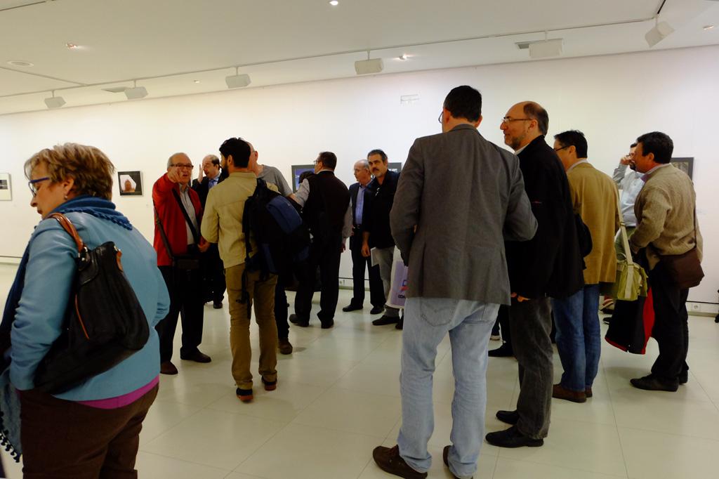 Visita a las exposiciones de Iberca