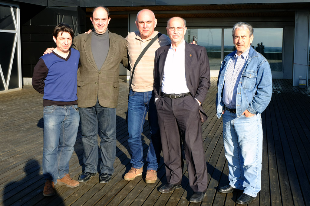 Visita a Museo Pablo Serrano durante el Congreso de la CEF en Zaragoza 2014