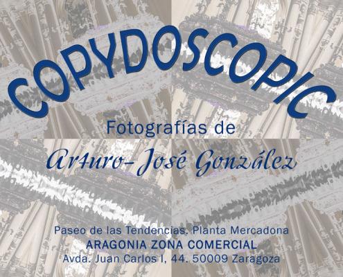 """Exposición """"COPYDOSCOPIC"""" de Arturo José González, en la sala ARAGONIA. Noviembre 2014"""