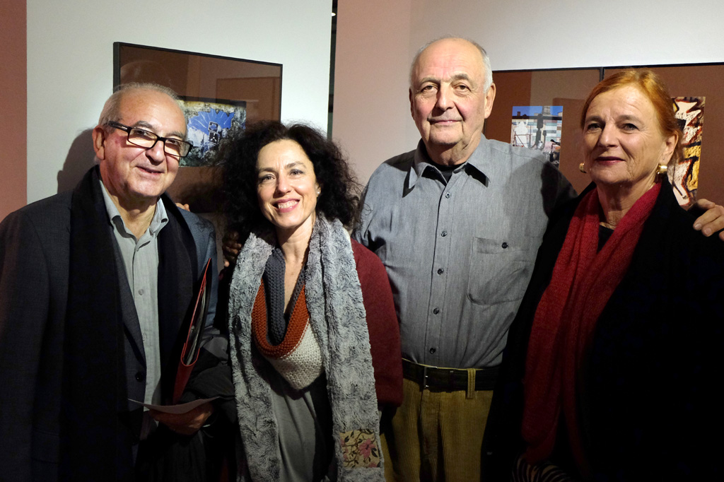 Julio Sánchez, Blanca Carbajal, Hermann Waldenburg y