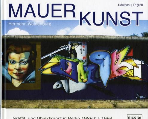 Portada libro Mauer Kunst de Hermman Waldenburg