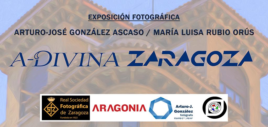 Tarjeta. Arturo-Jose Gonzalez y Maria Luisa Rubio Orús. A-Divina. Aragonia. Abril 2015