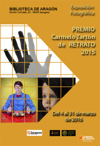 cartel premio retrato 2015