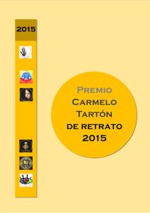 portada Caralogo Premio de Retrato RSFZ 2015