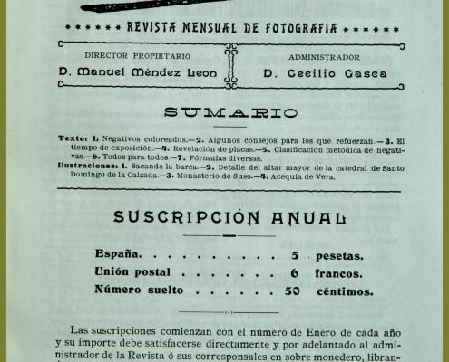 3. revista Photos 1906