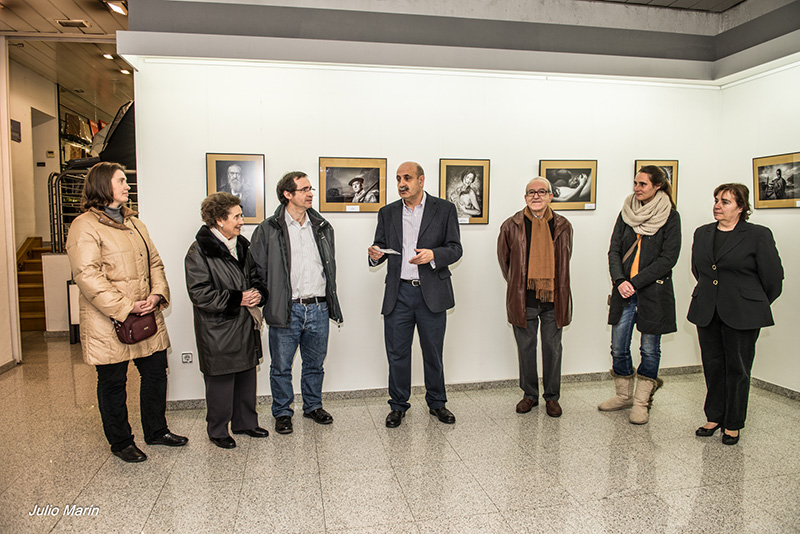 Inauguracion Premio Retrato 2013. Foto de julio marín