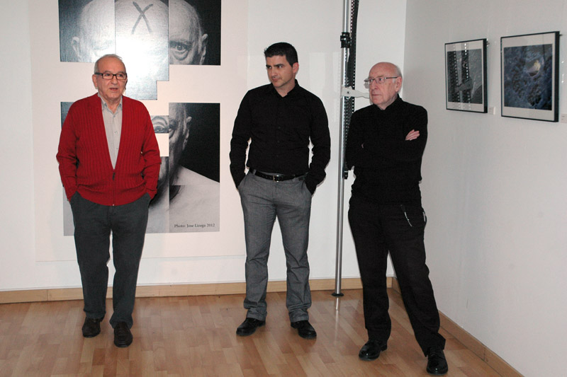 """Inauguración """"En silencio"""" de Jose Lizaga. 2014"""