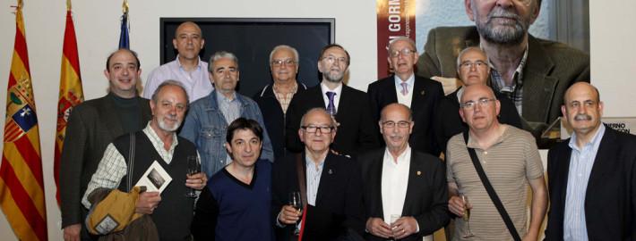 José Verón. Premio de las Letras Aragonesas 2013. Fotografía de carlos moncin