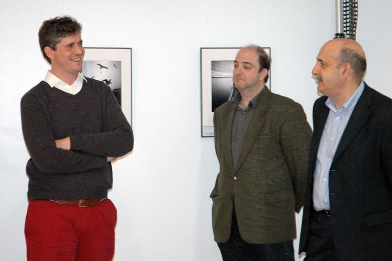"""Inauguración """"Solitudes"""" de Miguel Cabezas. 2014"""