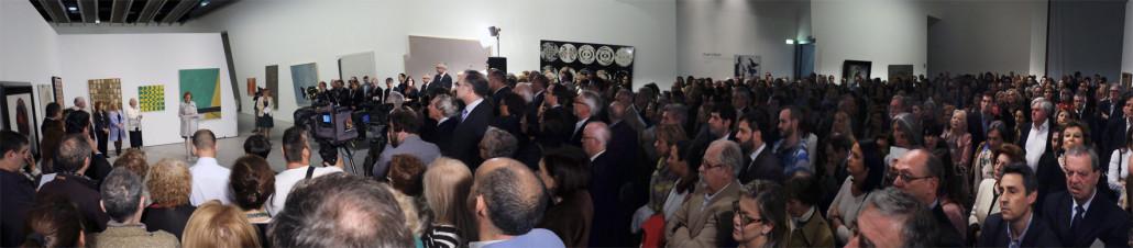 Pilar Citoler. IAACC Pablo Serrano. 2014. Panorama