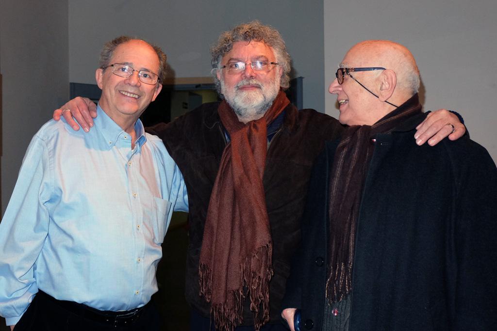 Carlos Barboza, Juan Domínguez Lasierra y José Luis Gota