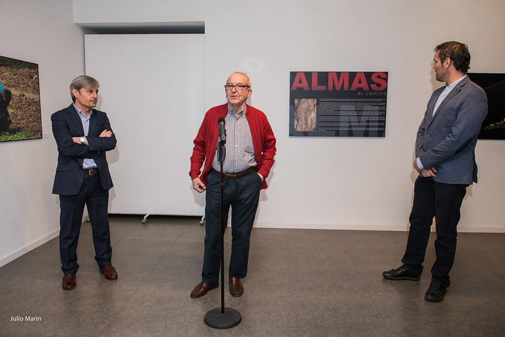 Almas de Oscar Catalan.  Joaquín Roncal. Zaragoza.2015 2