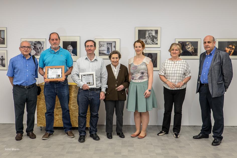 Inauguración Premio Carmelo Tartón de Retrato 2014. IAACC Pablo Serrano. 2015