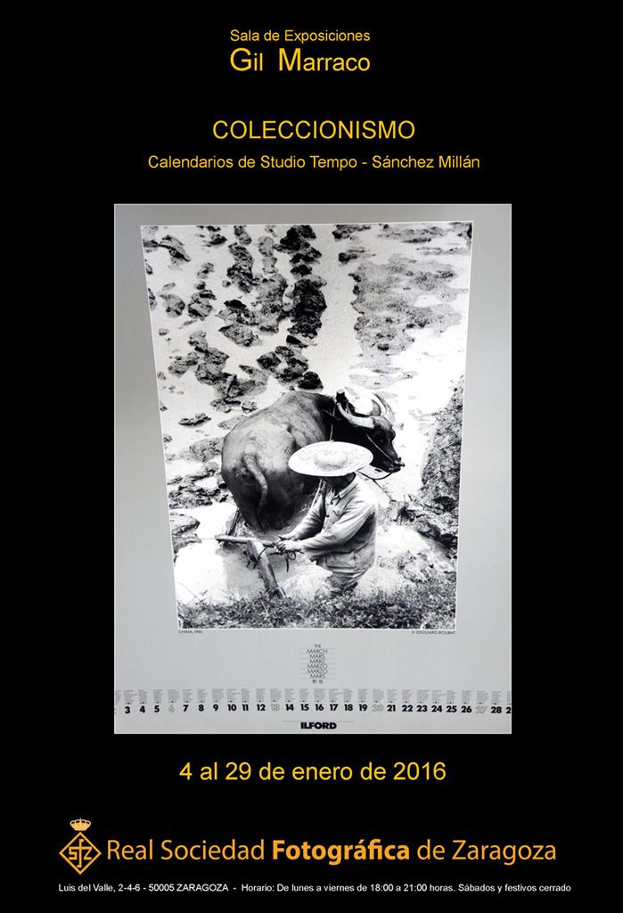 Calendarios de la colección de Studio Tempo - Sánchez Millán